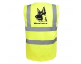 Bekleidung & AccessoiresHundesportwesten mit Hundemotiven inkl. Rückentasche MIL-TEC ®Deutscher Schäferhund 6 - Hundesport Warnweste Sicherheitsweste mit Hundemotiv
