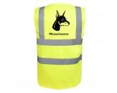 Bekleidung & AccessoiresHundesportwesten mit Hundemotiven inkl. Rückentasche MIL-TEC ®Dobermann 3 - Hundesport Warnweste Sicherheitsweste mit Hundemotiv