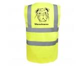 Bekleidung & AccessoiresHundesportwesten mit Hundemotiven inkl. Rückentasche MIL-TEC ®Englische Bulldogge - Hundesport Warnweste Sicherheitsweste mit Hundemotiv