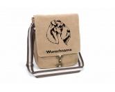 Bekleidung & AccessoiresHundesportwesten mit Hundemotiven inkl. Rückentasche MIL-TEC ®Kerry Blue Terrier Canvas Schultertasche Tasche mit Hundemotiv und Namen
