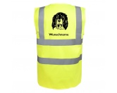 Warnwesten & SicherheitswestenWarnwesten mit Hunderasse MotivenEpagneul Breton Brittany Dog 2 - Hundesport Warnweste Sicherheitsweste mit Hundemotiv
