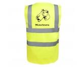 Taschen & RucksäckeCanvas Tasche HunderasseFoxterrier Drahthaar - Hundesport Warnweste Sicherheitsweste mit Hundemotiv
