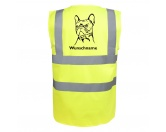 Für TiereFutterplatz-Matten & UnterlagenFranzösische Bulldogge - Hundesport Warnweste Sicherheitsweste mit Hundemotiv