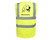 Schmuck & AccessoiresHunderassen Schmuck AnhängerGolden Retriever 4 - Hundesport Warnweste Sicherheitsweste mit Hundemotiv