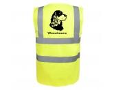 Socken mit TiermotivSocken mit HundemotivGordon Setter - Hundesport Warnweste Sicherheitsweste mit Hundemotiv