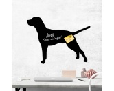 Tiermotiv TassenTassen HunderassenKreidetafel Hunderasse: Dalmatiner 1