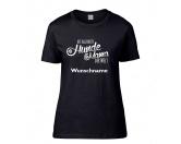 Für TiereStoßstangenschutzHundespruch T-Shirt: Hundemama