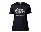Für TiereLeckerlies & HundekekseHundespruch T-Shirt: dog mom Damen