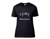 Für MenschenUNSERE BESTSELLERHundespruch T-Shirt: Herz 1 Damen