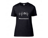 Taschen & RucksäckeCanvas Messenger -Hundesprüche-Hundespruch T-Shirt: Herz 1 Damen