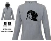 Tiermotiv TassenTassen HunderassenBerner Sennenhund - Hundemotiv Softshell Jacke DAMEN XL EINZELSTÜCK