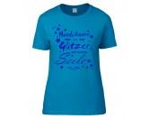 T-ShirtsFan-Shirts für HundefreundeHundespruch T-Shirt: Hundehaare sind Glitzer auf meiner Seele L EINZELSTÜCK
