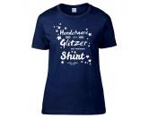 Für TiereHundenapf & KatzennapfHundespruch T-Shirt: Hundehaare sind Glitzer auf meinem Shirt L EINZELSTÜCK