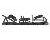 Taschen & RucksäckeShopper für HundefreundeAgility Leinengarderobe - Schlüsselbrett 6 Haken