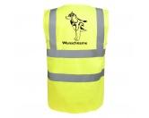 T-ShirtsHunderassen T-ShirtsHusky Siberian 2 - Hundesport Warnweste Sicherheitsweste mit Hundemotiv