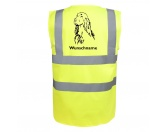 Socken mit TiermotivSocken mit HundemotivIrish Setter - Hundesport Warnweste Sicherheitsweste mit Hundemotiv