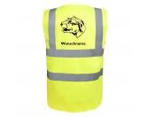 Fußmatten & LäuferFußmatten Hunderasse farbigIrish Wolfhound - Hundesport Warnweste Sicherheitsweste mit Hundemotiv