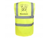 Warnwesten & SicherheitswestenWarnwesten mit Hunderasse MotivenJack Russell Terrier 2 - Hundesport Warnweste Sicherheitsweste mit Hundemotiv