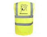 Für MenschenWeihnachtsmarktJack Russell Terrier 3 - Hundesport Warnweste Sicherheitsweste mit Hundemotiv