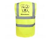 Warnwesten & SicherheitswestenWarnwesten mit Hunderasse MotivenJack Russell Terrier 4 - Hundesport Warnweste Sicherheitsweste mit Hundemotiv