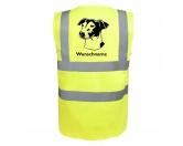 T-ShirtsHunderassen T-ShirtsJack Russell Terrier 5 - Hundesport Warnweste Sicherheitsweste mit Hundemotiv