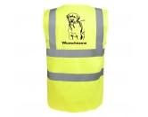 Hunderassen KollektionenLabrador Fan KollektionLabrador Retriever - Hundesport Warnweste Sicherheitsweste mit Hundemotiv