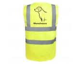 Taschen & RucksäckeBaumwolltaschenLabrador Retriever 2 - Hundesport Warnweste Sicherheitsweste mit Hundemotiv