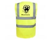 T-ShirtsHunderassen T-ShirtsMastiff 2 - Hundesport Warnweste Sicherheitsweste mit Hundemotiv