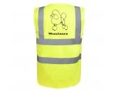 Schmuck & AccessoiresHunderassen Schmuck AnhängerPudel - Hundesport Warnweste Sicherheitsweste mit Hundemotiv