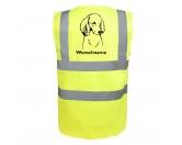Taschen & RucksäckeCanvas Tasche HunderassePudel 2 - Hundesport Warnweste Sicherheitsweste mit Hundemotiv