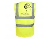 Aufkleber & TafelnHund Inside Auto AufkleberShar Pei - Hundesport Warnweste Sicherheitsweste mit Hundemotiv