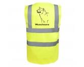 Bekleidung & AccessoiresHundesportwesten mit Hundemotiven inkl. Rückentasche MIL-TEC ®Shiba Inu - Hundesport Warnweste Sicherheitsweste mit Hundemotiv