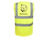 Bekleidung & AccessoiresHundesportwesten mit Hundemotiven inkl. Rückentasche MIL-TEC ®Shiba Inu 2 - Hundesport Warnweste Sicherheitsweste mit Hundemotiv