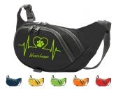 Bekleidung & AccessoiresHundesportwesten mit Hundemotiven inkl. Rückentasche MIL-TEC ®Hundesport Bauchtasche Fun: Herz 2