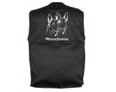 Bekleidung & AccessoiresHundesportwesten mit Hundemotiven inkl. Rückentasche MIL-TEC ®Belgischer Schäferhund 2 Köpfe - Hundesportweste mit Rückentasche MIL-TEC ®