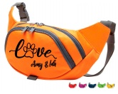 Für Menschen% SALE %Hundesport Bauchtasche Fun: Paw Love