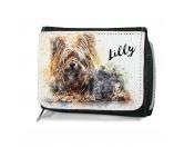 Bekleidung & AccessoiresHundesportwesten mit Hundemotiven inkl. Rückentasche MIL-TEC ®Hunde Portrait Geldbörse - Yorkshire Terrier