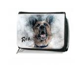 Für MenschenHundemotiv HandtücherHunde Portrait Geldbörse - Schäferhund