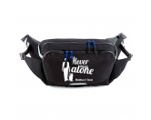 Hundespruch KollektionenKollektion -Hundehaare sind Glitzer-Hundesport Hüfttasche Hydro Performance - Never walk alone 3