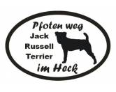 Leben & WohnenKissen & KissenbezügePfoten Weg - Aufkleber: Jack Russell Terrier