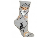 Taschen & RucksäckeCanvas Tasche HunderasseHunde Rasse Socken: Italian Greyhound -grau-