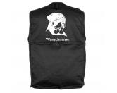 Bekleidung & AccessoiresHundesportwesten mit Hundemotiven inkl. Rückentasche MIL-TEC ®Rottweiler 3 - Hundesportweste mit Rückentasche MIL-TEC ®