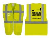 Bekleidung & AccessoiresHundesportwesten mit Hundesprüchen inkl. Rückentasche MIL-TEC ®Hundesport Warnweste - Sicherheitsweste mit Taschen Mantrailing 3