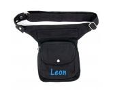 Bekleidung & AccessoiresHundesportwesten mit Hundemotiven inkl. Rückentasche MIL-TEC ®Nijens Hüfttasche - Bauchtasche -schwarz- Wunschname 2
