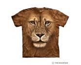 Für Menschen% SALE %The Mountain T-Shirt - Lion Löwe Face -XL- Einzelstück