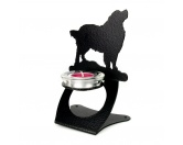 Selbstklebende KreidetafelnHundeBerner Sennenhund Teelichthalter aus Stahl