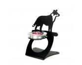 Tiermotiv TassenTassen HunderassenBorder Collie stehend 2 Teelichthalter aus Stahl