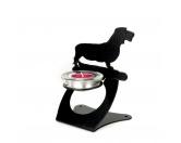 Bekleidung & AccessoiresHausschuhe & PantoffelnRauhaardackel Dackel Teelichthalter aus Stahl