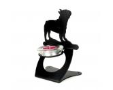 Aufkleber & TafelnFranzösische Bulldogge Teelichthalter aus Stahl