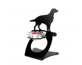 Tiermotiv Tassen3D Tassen HundeIrish Red Setter Teelichthalter aus Stahl